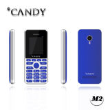 1.77 polegadas tela Quad Band MP3 MP4 FM GSM / 2g Feature Mobile Phone