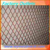 Engranzamento de fio expandido do metal da fachada do edifício engranzamento de aço