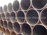 ERW/LSAWのGSMのテレコミュニケーションポーランド人のための円形の炭素鋼の管