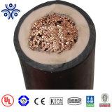 A certificação UL Rhh Rhw núcleo interior isolamento EPR CPE de borracha da bainha do cabo Dlo 2000V 12AWG 3*12AWG 5*10AWG