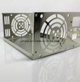 Lamiera sottile dell'acciaio inossidabile di abitudine 304 che timbra la lamiera sottile del hardware delle coperture dell'alimentazione elettrica di commutazione della parte che timbra il contenitore elettronico di contenitore di metallo di servizio
