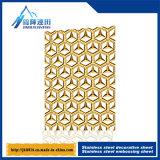 plaque décorative de plaque métallique d'acier inoxydable de la plaque 201 304 316