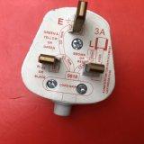 Прозрачный 1.5m BS UK шнур питания IEC 320 C13