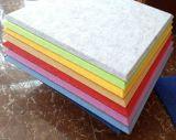 Painel 100% acústico de fibra de poliéster dos materiais do Soundproofing