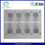 Tag da etiqueta da freqüência ultraelevada RFID da alta qualidade com amostra livre