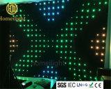 P15 2x3m vídeo RGB LED cortina para cabina de DJ telón de fondo de pantalla