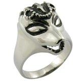 Moda jóias de moda do anel de aço inoxidável