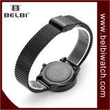 Reloj impermeable ocasional del cuarzo del reloj de oro de la manera de las señoras de Belbi
