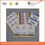 Berufserzeugnis-Drucken-selbstklebender gedruckter wasserdichter Papieraufkleber