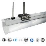 Carcasa de aleación de aluminio 5000K 5 años de garantía de 4 pies de 40W de montaje de pared LED de corredor de luz lineal