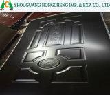 3mm/4mm de melamina puertas HDF Piel