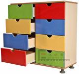 Стальные шкафы с 9 красными дверями, стальные шкафы хранения (DG-33A)