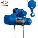 alzamiento de cuerda de alambre 1ton 220V/440V con de la potencia la protección apagado