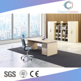 Modern Corner Office Furniture L Shap Wooden Counts (CAS-MD18A72)