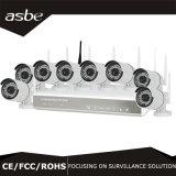 cámara sin hilos del IP de los sistemas de seguridad de los kits del CCTV de 8CH H. 264 P2p Nvt