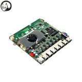 PC Secuity сети с J1900, бортовой памятью 2GB/4GB DDR3l, LAN 6