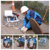 Inspecção do tubo do Duto da Câmara de esgotos Robô do trator de esteiras