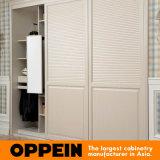 Feritoia Closed moderna incorporata bianca che fa scorrere il guardaroba di legno della camera da letto (YG11319)