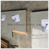 Countertop van het Graniet van de sesam Witte voor het WoonProject van de Keuken