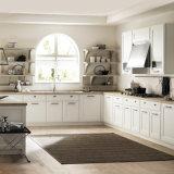 Moderne europäische Art-hölzerner Küche-Schrank