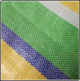 Stripe bâche étanche couleur feuille avec la corde et la cosse à oeillet
