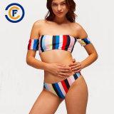 Novo Estilo Fashion Sexy modelada Bikini Lady calções de banho