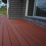 Decking composto plástico de madeira do Decking de WPC para o terraço ao ar livre do balcão