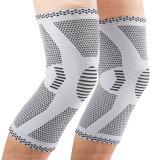 Großhandelskomprimierung Sports Knie-Klammer-rutschfeste Unisexknie-Auflage-Stützhülse