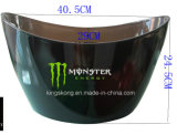 12L Wing Shape PS Acrylics Transparent Plastic Ice Bucket