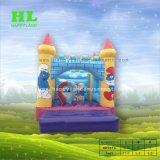 Rosa y Azul inflables Niños y Niñas saltando Bouncer