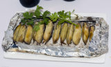 焙焼の海食糧のための8011-O 0.010mmの食品等級の世帯のアルミホイル