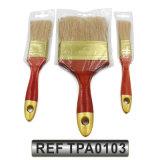 Pintar a escova de pintura das ferramentas com punho de madeira (TPA0103)