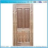 Pelle di legno naturale del portello dell'impiallacciatura modellata Bubinga di HDF