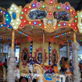 Carrousel de luxe de Kiddie de cour de jeu d'amusement de 16 portées