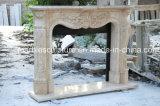 Design personalizado casa estilo europeu decorativas lareira de mármore Surround (SY-MF238)
