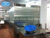 A fábrica fornece diretamente a congelação rápida do túnel para peixes do pão do marisco