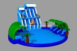 De nieuwe Apparatuur van het Park van het Water van het Ontwerp Reuze Opblaasbare (RB32013)