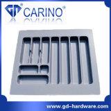 (W591) 플라스틱 칼붙이 쟁반, 플라스틱 진공 형성된 쟁반