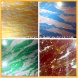 Artificial Red / Green / White Colors Countertop Quartz Stone Slabs
