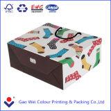 Мешок большого рождества бумажный, хорошее цена рециркулирует бумажный мешок с вашим собственным логосом
