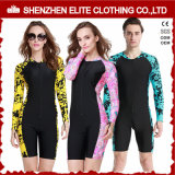 Logotipo personalizado Swim Couple Rash Guard