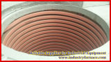 Horno fusorio de cobre de la inducción de frecuencia media