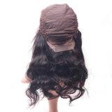 Верхнюю часть 7A Real комплекты волос бразильского кружева шелковистой тела женщин кружева передней Wig кривой