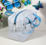 Cosmetic promozionale Bag Zipper Toiletry Bag con Handle