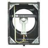Fornello di gas di alluminio del bruciatore della protezione dorata del ferro Jp-Gc101ts
