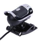 Degré élevé MIC du webcam 360 d'appareil-photo de définition du megapixel de Webcam le plus neuf USB 12 à agrafe pour l'ordinateur de Skype