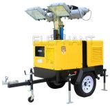 4*1000W Perkins Generator Mobile Light Tower