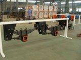 2 dell'asse sospensione meccanica del rimorchio BPW semi