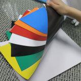 Folhas personalizadas flexíveis coloridas do rolo do ímã de borracha