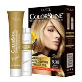Cor permanente cosmética do cabelo de Tazol Colorshine (Blonde claro) (50ml+50ml)